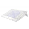Deepcool Notebook Cooler Pad Up to 15' w/ Light & Fan White